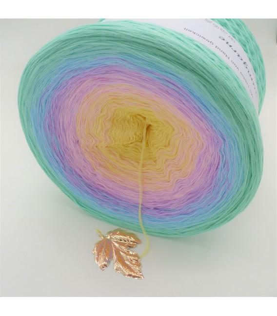 Regenbogen Gigantischer Bobbel - Farbverlaufsgarn 4-fädig - Bild 2