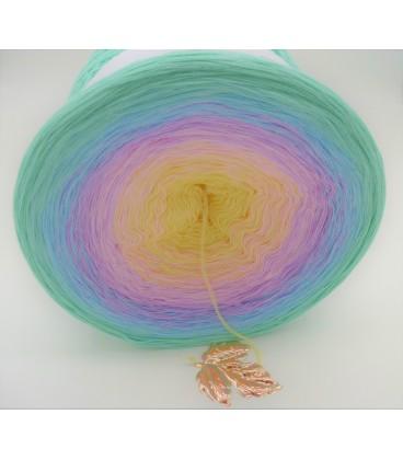 Regenbogen Gigantischer Bobbel - Farbverlaufsgarn 4-fädig - Bild 3