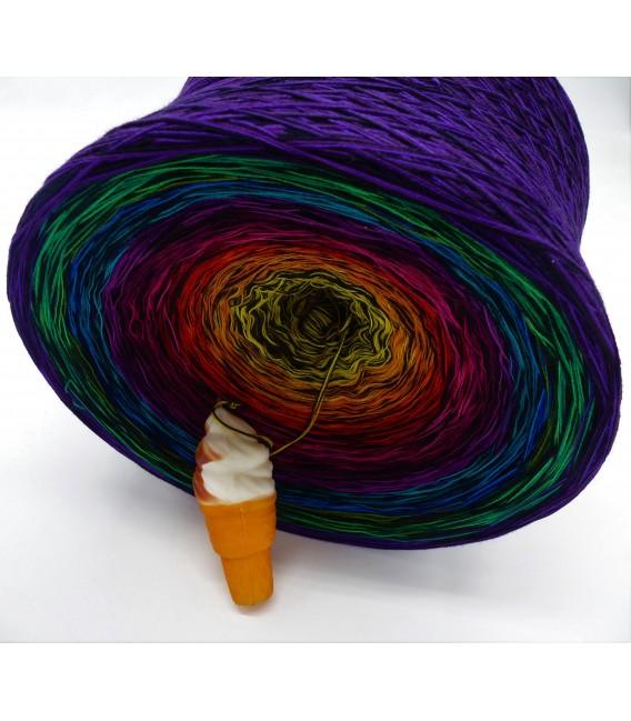 Farbspektakel (Цветной зрелище) Гигантский Bobbel - 4 нитевидные градиента пряжи - Фото 3