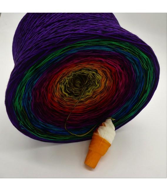 Farbspektakel (Цветной зрелище) Гигантский Bobbel - 4 нитевидные градиента пряжи - Фото 4