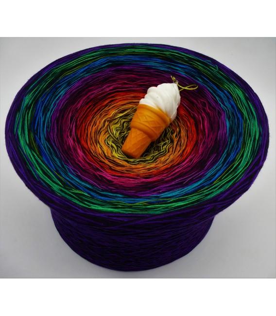 Farbspektakel (Цветной зрелище) Гигантский Bobbel - 4 нитевидные градиента пряжи - Фото 1