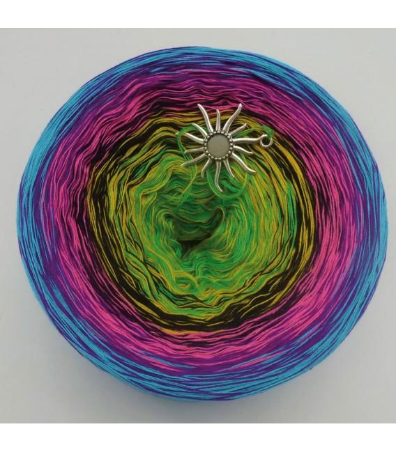 Sommerbunt mit Schwarz (Été coloré avec du noir) - 4 fils de gradient filamenteux - photo 3