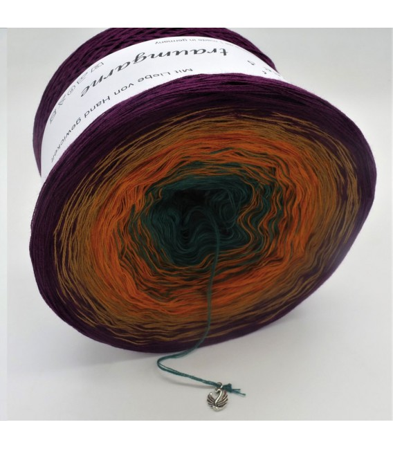 Heile Welt (Heal the world) - 4 ply gradient yarn - image 4