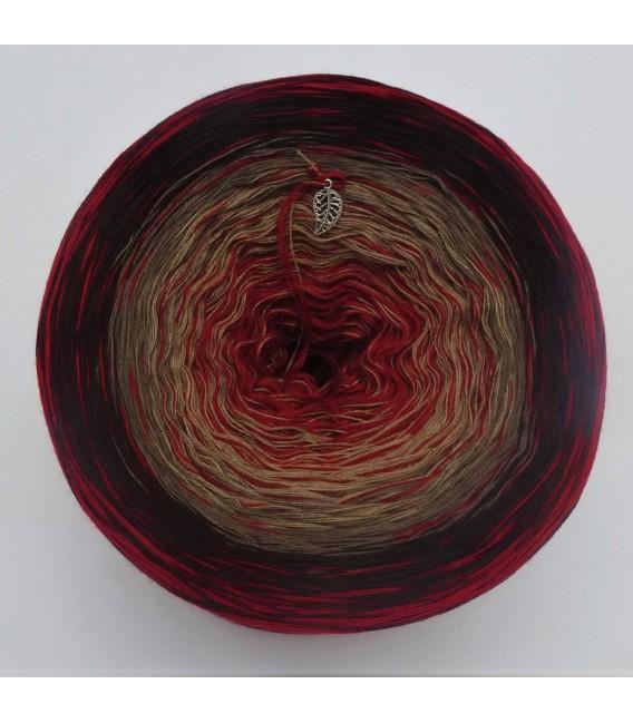 Edelchen in Burgund (Precious in Burgundy) - 4 ply gradient yarn - image 2