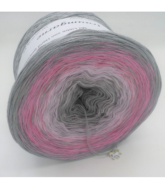 Edelchen in Rose - Farbverlaufsgarn 4-fädig - Bild 3