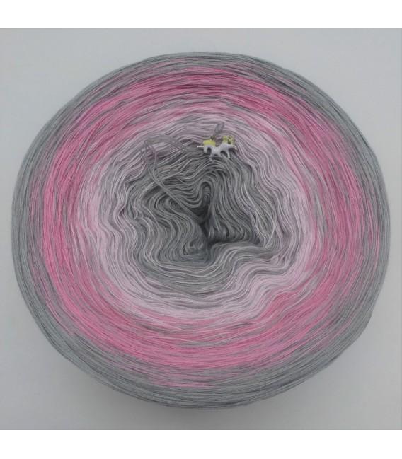 Edelchen in Rose - Farbverlaufsgarn 4-fädig - Bild 2