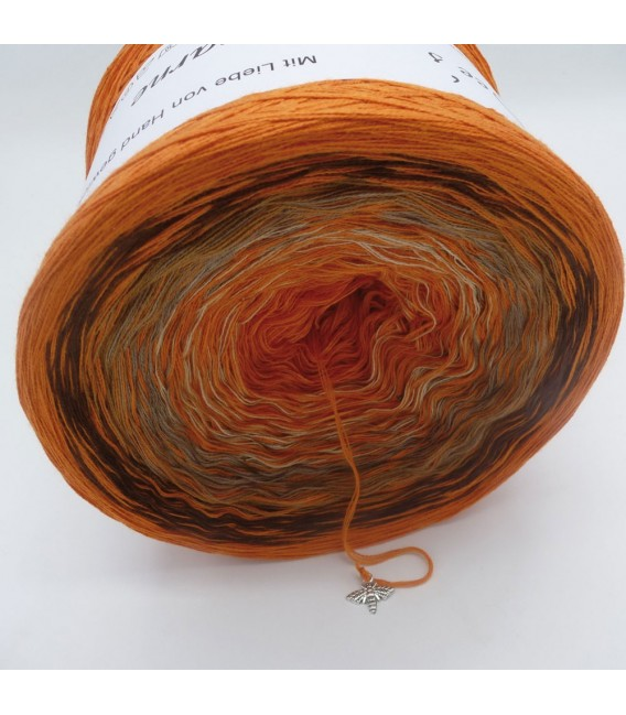 Edelchen in Cognac (Precious in cognac) - 4 ply gradient yarn - image 3
