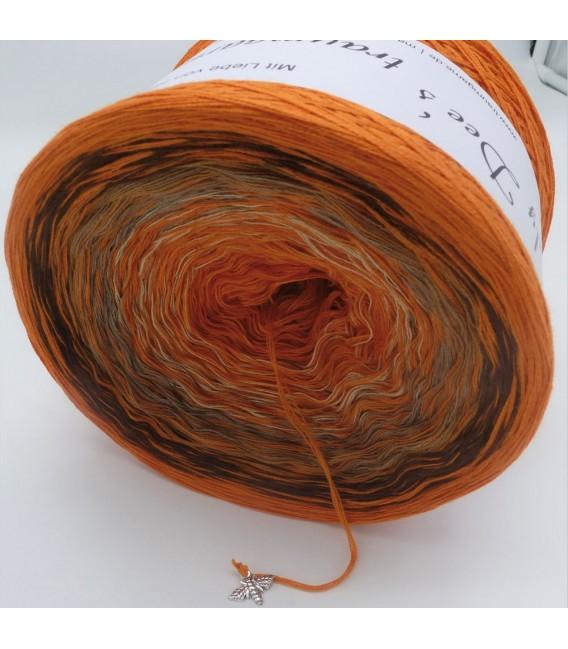 Edelchen in Cognac (Precious in cognac) - 4 ply gradient yarn - image 4