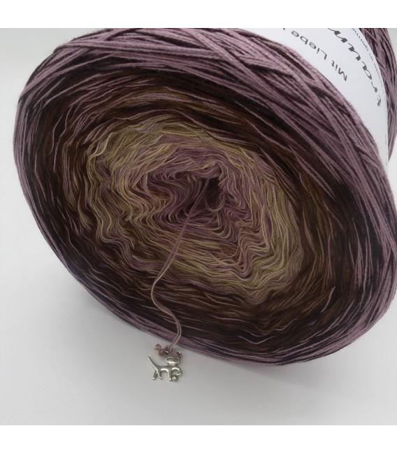 Edelchen in Rosenholz (Драгоценные в розовое дерево) - 4 нитевидные градиента пряжи - Фото 4
