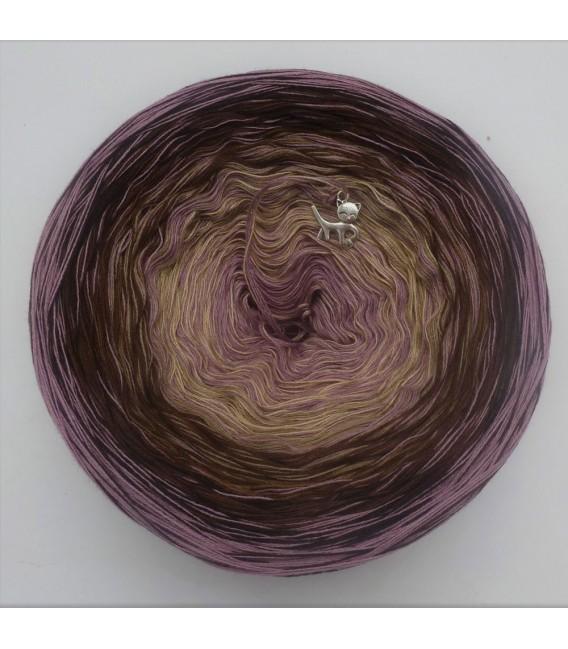 Edelchen in Rosenholz - Farbverlaufsgarn 4-fädig - Bild 2