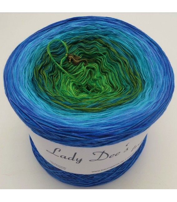 Zauber der Südsee (Magic of the South Seas) - 4 ply gradient yarn - image 1