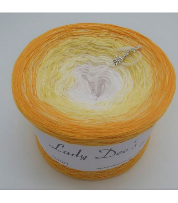 Honigmelone (cantaloupe) - 4 ply gradient yarn - image 9