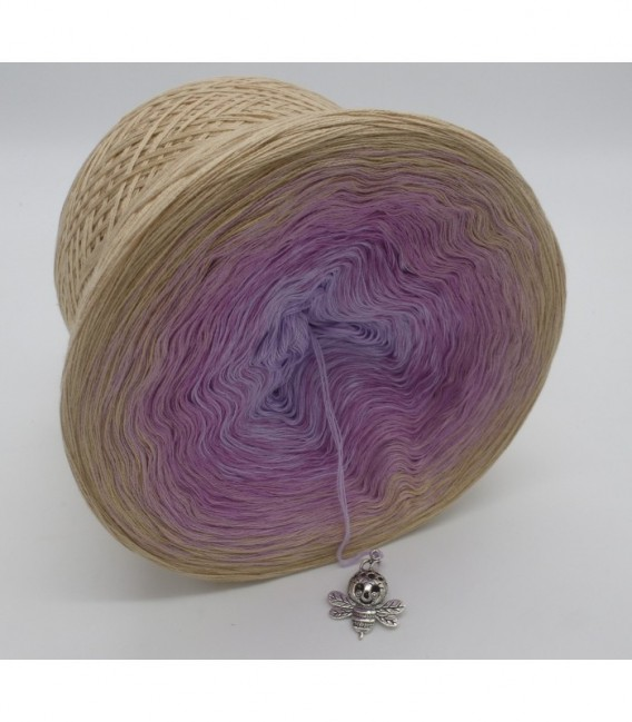 Fliederduft (Lilac scent) - 4 ply gradient yarn - image 8
