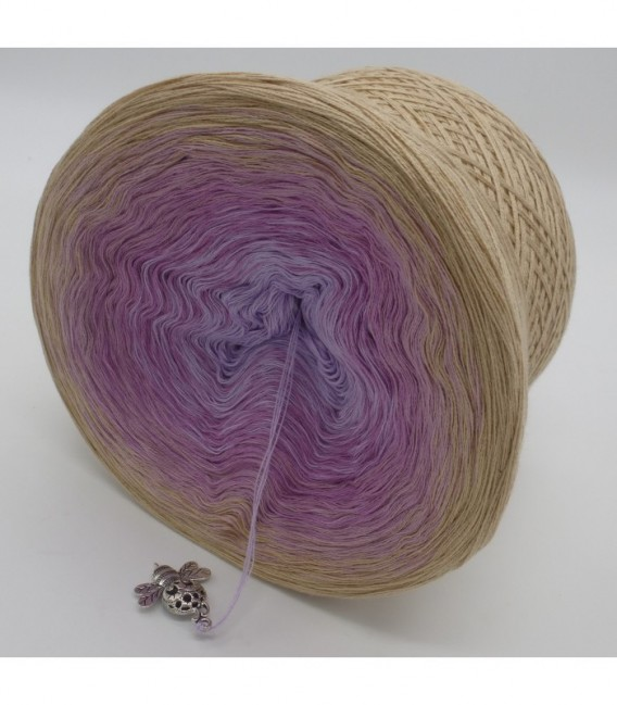 Fliederduft (Lilac scent) - 4 ply gradient yarn - image 9