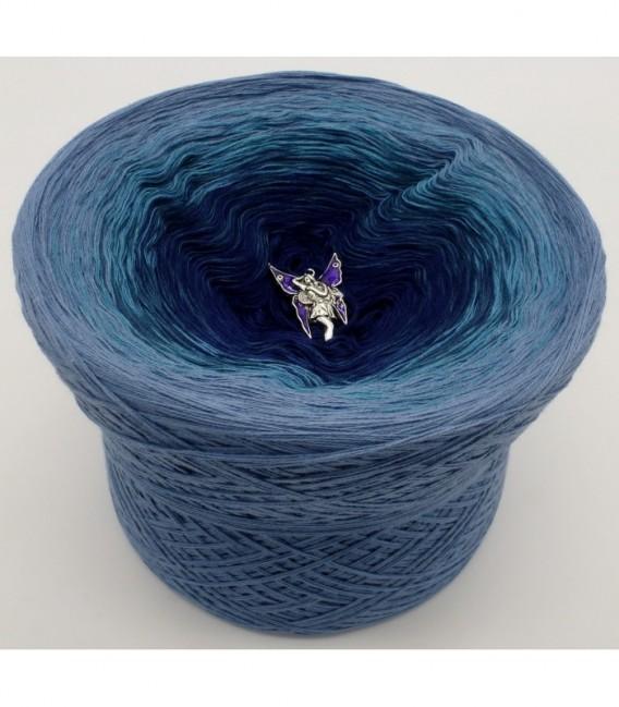 Blauer Engel (синий ангел) - 4 нитевидные градиента пряжи - Фото 6