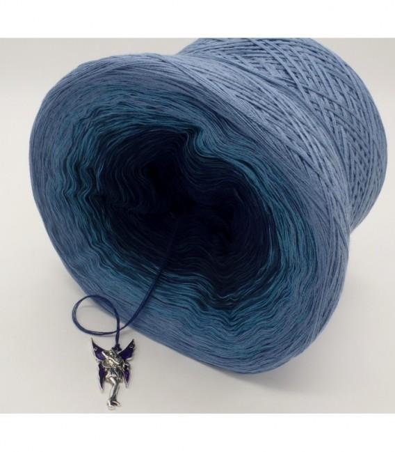 Blauer Engel (синий ангел) - 4 нитевидные градиента пряжи - Фото 8