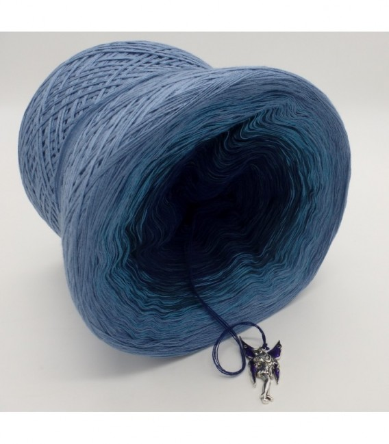 Blauer Engel (синий ангел) - 4 нитевидные градиента пряжи - Фото 9