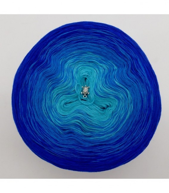 Zauber der Meere (Магия морей) - 3 нитевидные градиента пряжи - Фото 7
