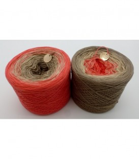 African Queen - 3 ply gradient yarn image 1