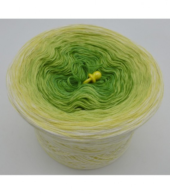 Kiwi küsst Limette (Киви поцелуи Лимон) - 3 нитевидные градиента пряжи - Фото 6