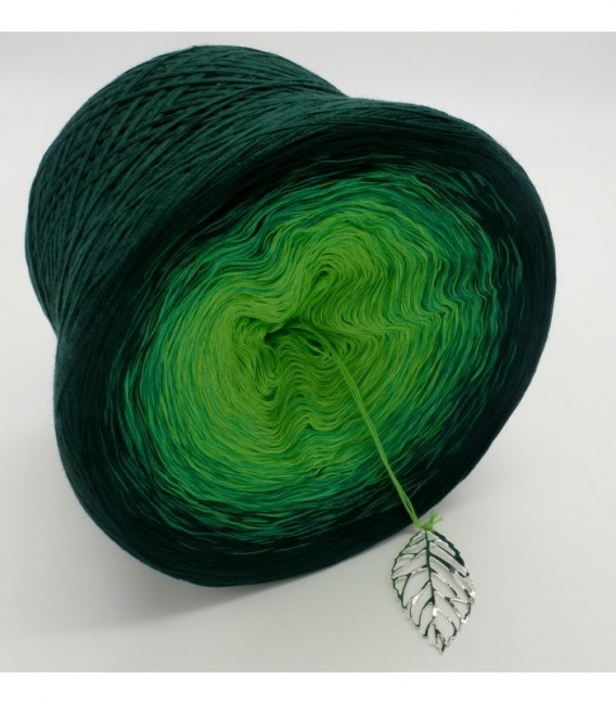gradient yarn Frühlingsboten - Apple green outside