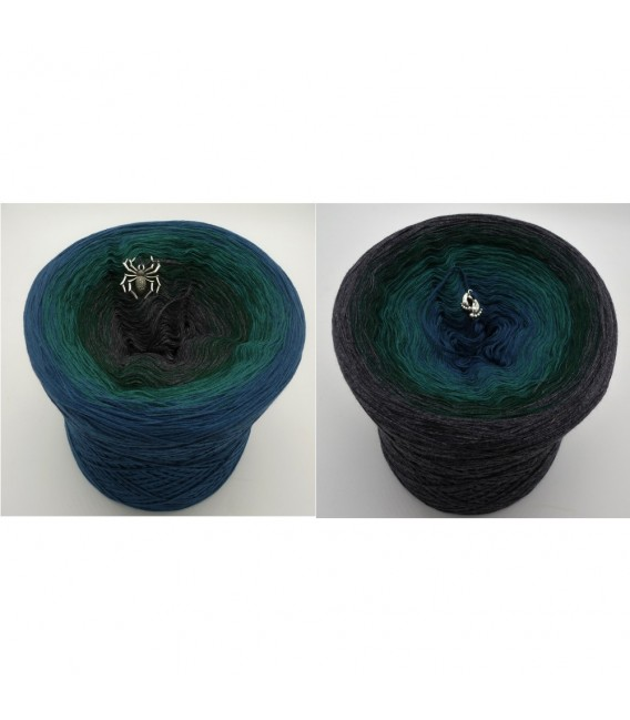 Dunkler Wald (dark forest) - 4 ply gradient yarn - image 1