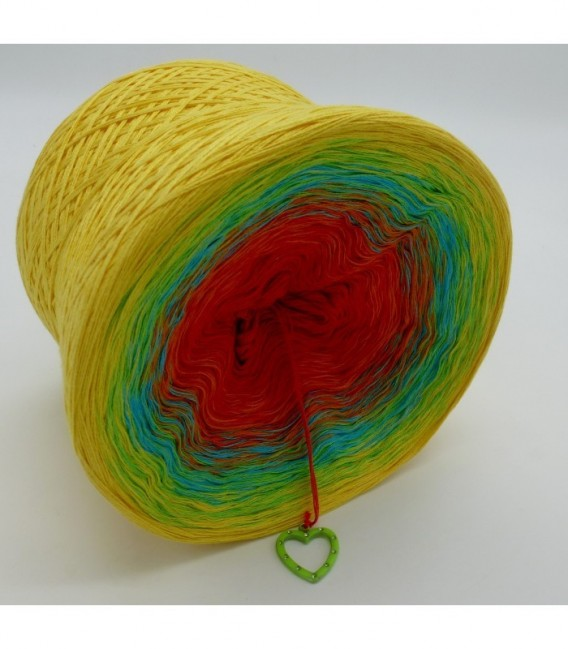 Over the Rainbow (над радугой) - 4 нитевидные градиента пряжи - Фото 8