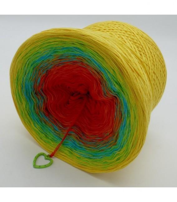 Over the Rainbow (над радугой) - 4 нитевидные градиента пряжи - Фото 9