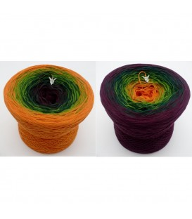 Irischer Frühling (Irish Spring) - 4 ply gradient yarn - image 1