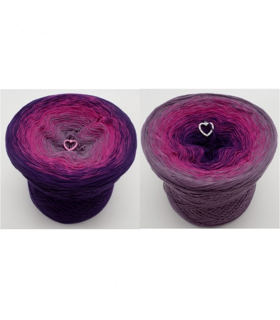 Wild Berries - 4 ply gradient yarn - image 1