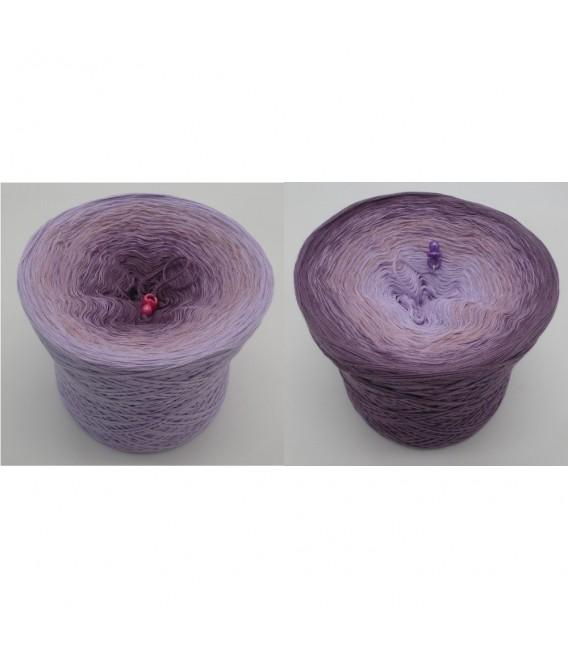 Magnolien - Farbverlaufsgarn 4-fädig - Bild 1