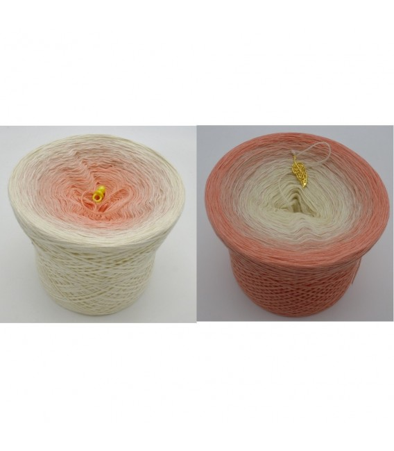 Pfirsich Blüte - Farbverlaufsgarn 4-fädig - Bild 1