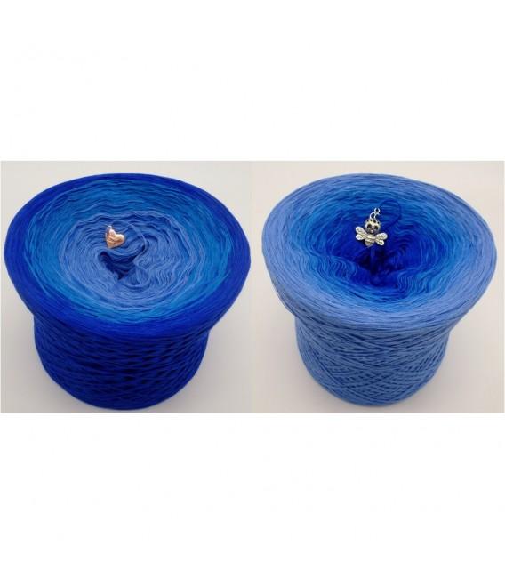 Kornblumen (bleuet) - 4 fils de gradient filamenteux - Photo 1