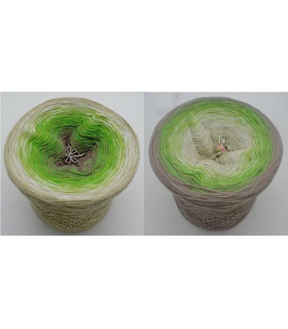 Sommergrün (лето зеленый) - 4 нитевидные градиента пряжи - Фото 1