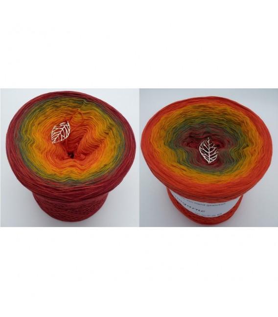Herbstliche Impressionen (Autumnal impressions) - 4 ply gradient yarn - image 1