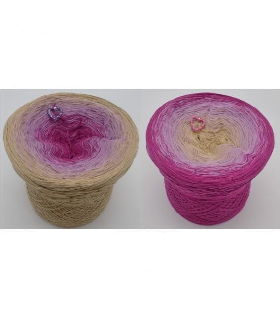 gradient yarn 4ply Venezia - Beige outside