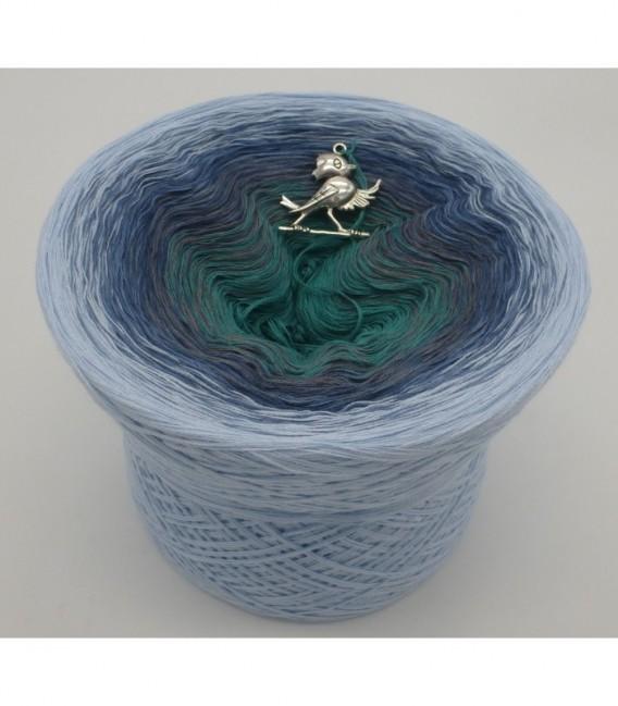 Nebelschleier (Fog veil) - 4 ply gradient yarn - image 5