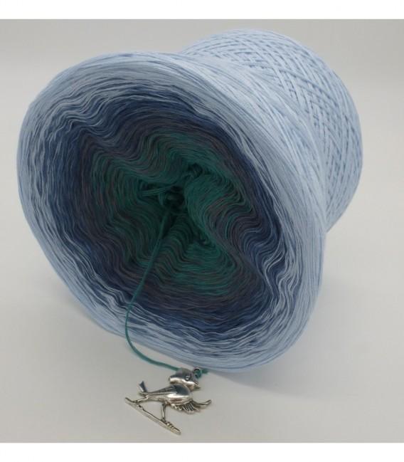 Nebelschleier (Fog veil) - 4 ply gradient yarn - image 8