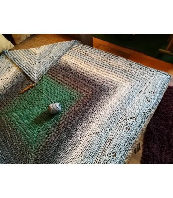 Nebelschleier (Fog veil) - 4 ply gradient yarn - image 9