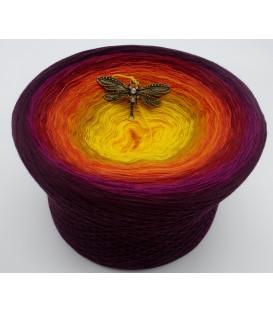 mega gradient yarn 4ply Sonne des Südens - 500g