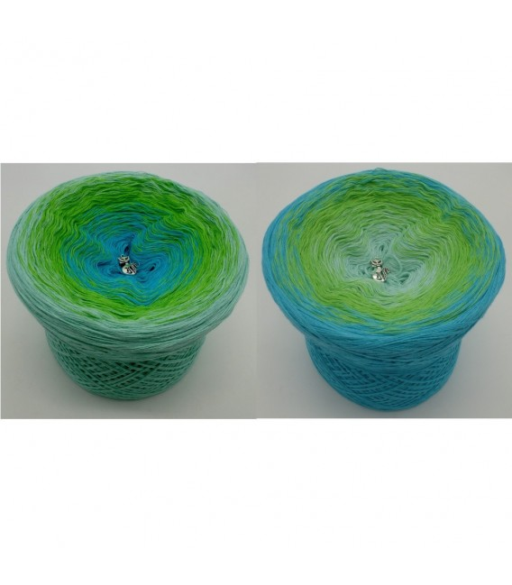 Bergquelle (Mountain spring) - 4 ply gradient yarn - image 1