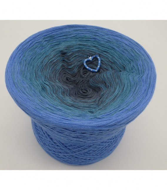Blaue Sünde (синий грех) - 4 нитевидные градиента пряжи - Фото 6