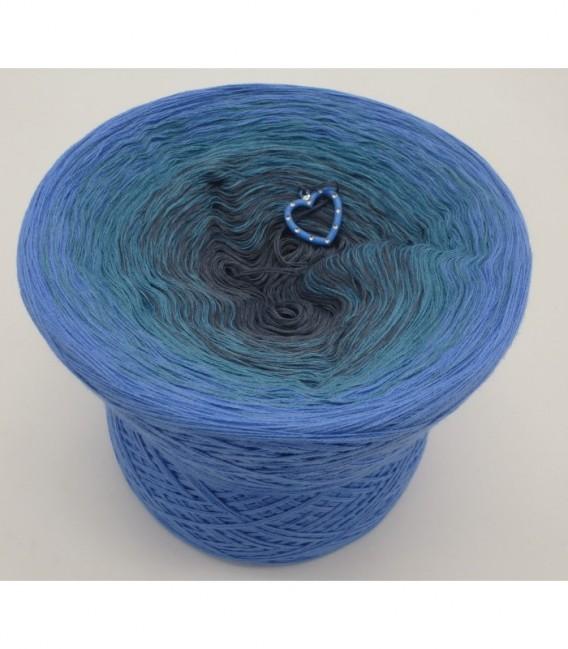 Blaue Sünde - Farbverlaufsgarn 4-fädig - Bild 6
