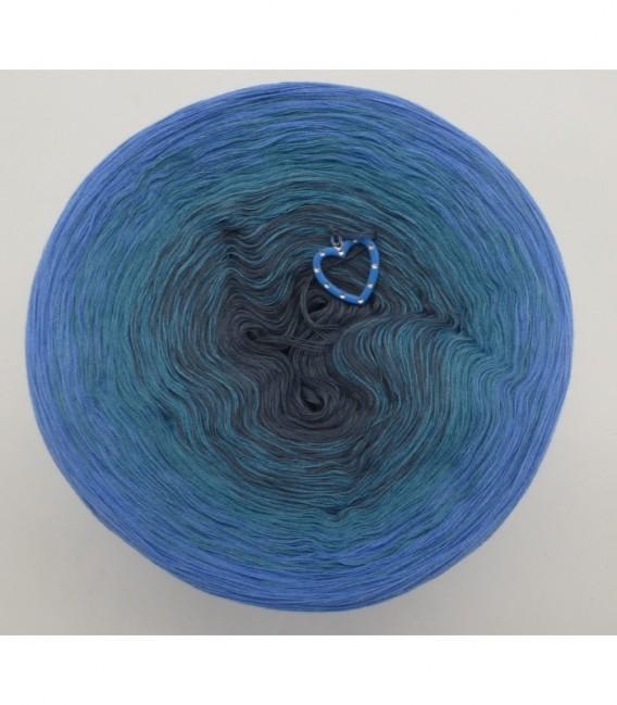 Blaue Sünde (синий грех) - 4 нитевидные градиента пряжи - Фото 7