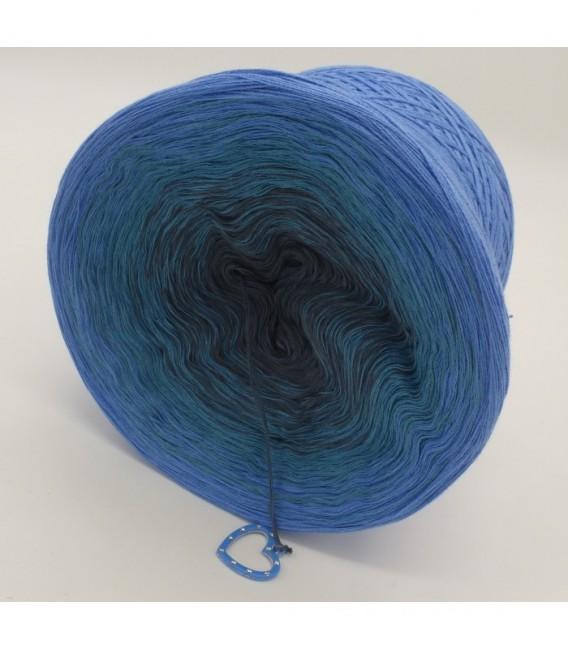 Blaue Sünde - Farbverlaufsgarn 4-fädig - Bild 9