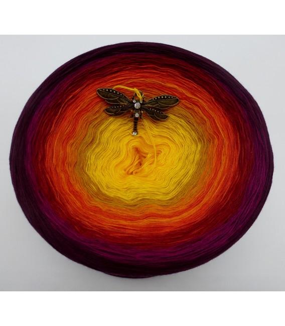 Sonne des Südens Megabobbel - Farbverlaufsgarn 4-fädig - Bild 3