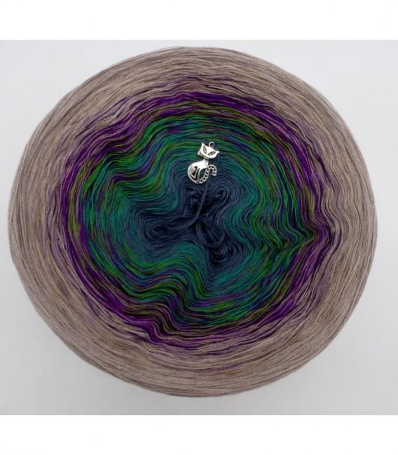 Pfauenauge - Farbverlaufsgarn 4-fädig - Bild 7