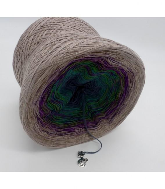 Pfauenauge - Farbverlaufsgarn 4-fädig - Bild 8