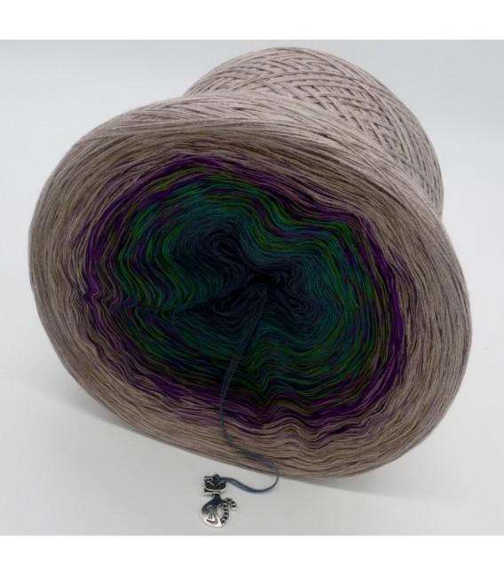 Pfauenauge - Farbverlaufsgarn 4-fädig - Bild 9