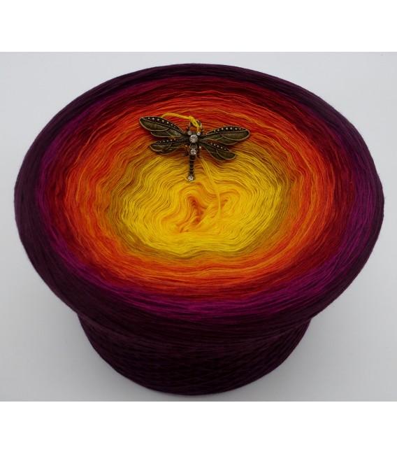 Sonne des Südens (Sun of the South) Mega Bobbel - 4 ply gradient yarn - image 6